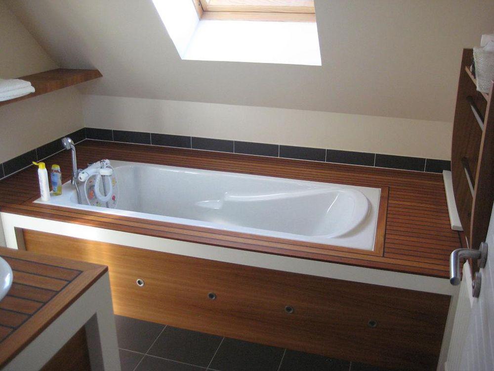 Meubles salle de bain agencement vannes Creation meuble salle de bain